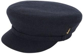 Borsalino Virgin Wool Sailor Hat