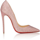 Christian Louboutin Women's So Kate Glitter Mesh Pumps