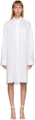 Totême White Pina Dress