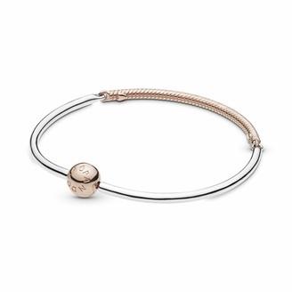 Pandora Women Rose Gold Plated Charm Bracelet - 588143-21