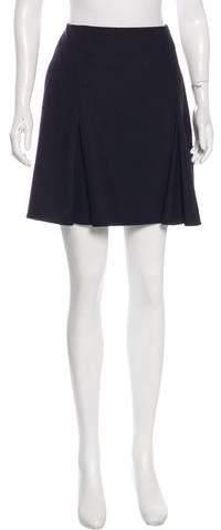 Kenzo Virgin Wool Mini Skirt