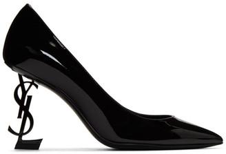 Saint Laurent Black Opyum 85 Heels
