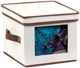 Honey-Can-Do Natural Canvas Small Window Storage Box