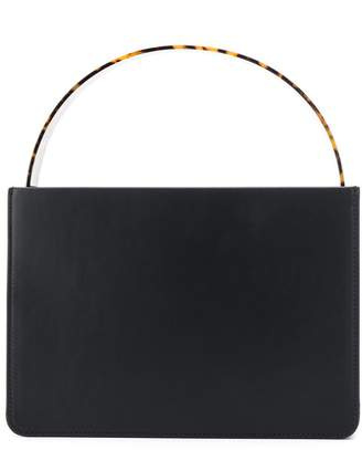 Montunas tortoiseshell-effect top handle bag