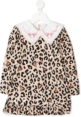 MonnaLisa Leopard Print Dress