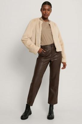NA-KD Short Faux Fur Jacket