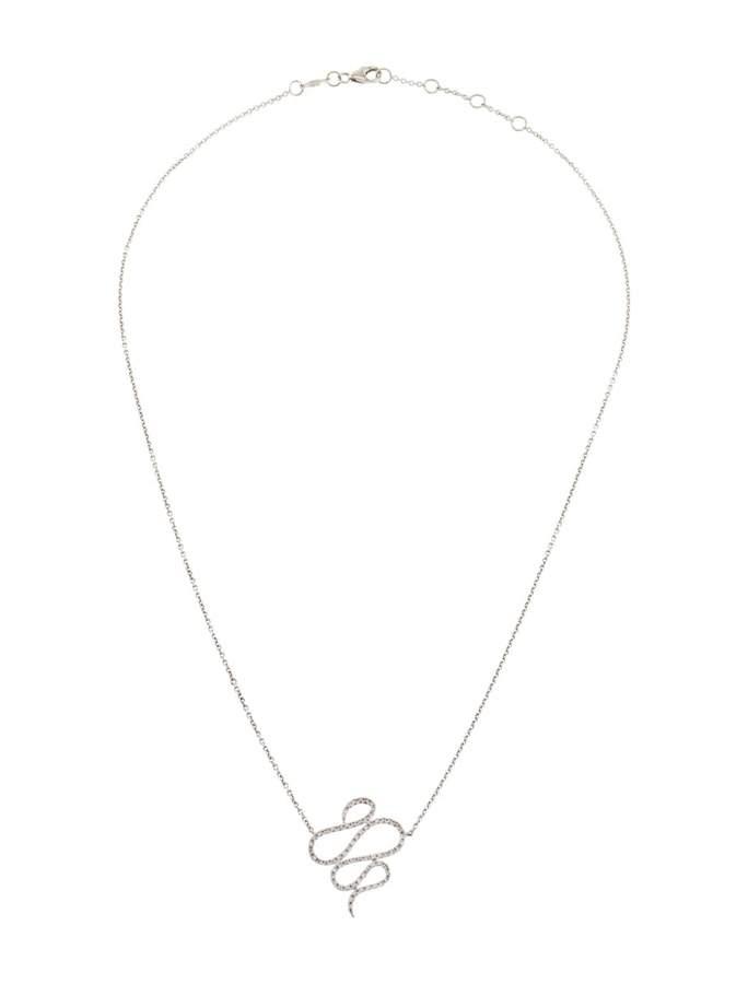 Djula White gold necklace