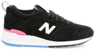 New Balance 997 Made in US Suede & Mesh Sneakers