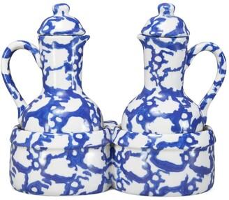 Tory Burch Spongeware Oil & Vinegar Set