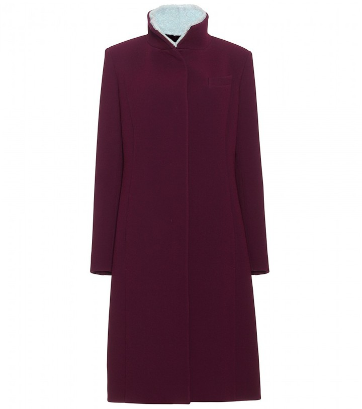 Pringle COAT WITH CONTRASTING COLLAR