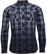Firetrap Mens Boreray Shirt Carbon Check