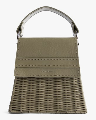 Wicker Wings Olive Lian Handbag