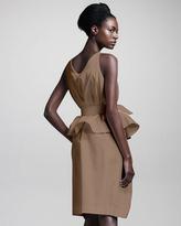 Chloé Cotton Peplum Dress