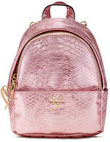Victoria's Secret Victorias Secret Luxe Python Mini City Backpack