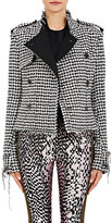 Haider Ackermann Women's Houndstooth Double-Breasted Jacket-BLACK