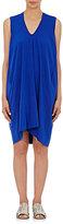 Zero Maria Cornejo Women's Reverse Charmeuse Tasi Dress-BLUE