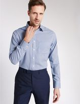 Marks and Spencer Pure Cotton Non-Iron Shirt with Pocket