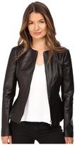 Philipp Plein Leather Jacket Women's Coat