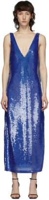 Eckhaus Latta Blue Sequin Dress