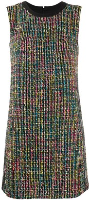 Versace Jeans Couture Tweed Shift Dress