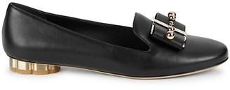 Salvatore Ferragamo Sarno Leather Loafers