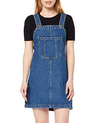 New Look Petite Women's Tetley Pocket Pinny Dress,(Manufacturer Size:)