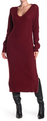 Stitchdrop Adjustable Double Zip Hem Sweater Dress