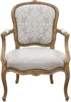 One Kings Lane Vintage Louis XV Fauteuil a la Reine
