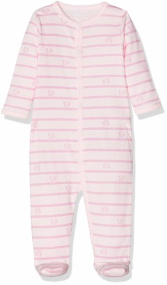 Name It Baby Girls' Nbfminnie Wf Cila Nightsuit Wdi Footies