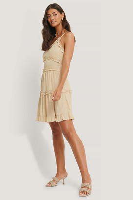 Trendyol Ruffle Detailed Mini Dress