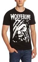 Logoshirt Vintage Marvel-Wolverine Logo T-Shirt