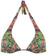 Lygia & Nanny floral print triangle bikini top