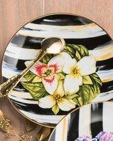 Mackenzie Childs MacKenzie-Childs Trillium Thistle & Bee Salad Plate