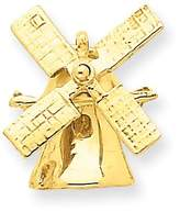 goldia 14k Gold Wind Mill Charm