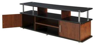 "Johar Furniture 59"" TV Stand Cherry Black"