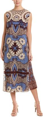 Valentino Silk Midi Dress & Skirt Set
