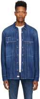 Diesel Blue Denim D-Blue Flox Shirt