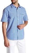 Tommy Bahama Short Sleeve Check Norris Regular Fit Shirt
