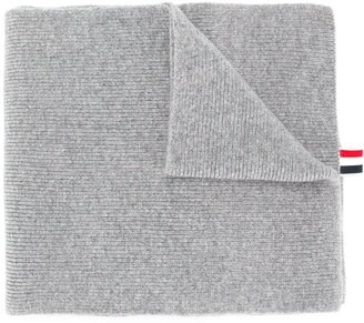 Thom Browne Ribbed Cashmere Scarf