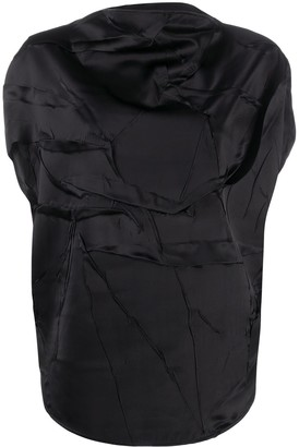 MM6 MAISON MARGIELA Wrinkled Effect Blouse