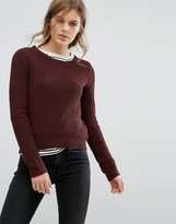 Vero Moda Ribbed Scoop Neck Sweater