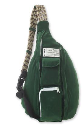 Kavu Women's Backpacks Park - Park Green Rope Cord Sling Backpack