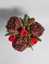 Marks and Spencer The Collection Christmas Jewel Flower Bouquet