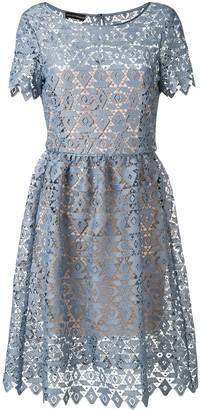 Emporio Armani Geometric Macrame Dress