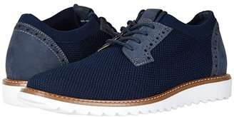 Dockers Einstein Knit/Leather Smart Series Dress Casual Oxford with NeverWet (Oatmeal/Black Marbeled Knit/Nubuck) Men's Lace up casual Shoes