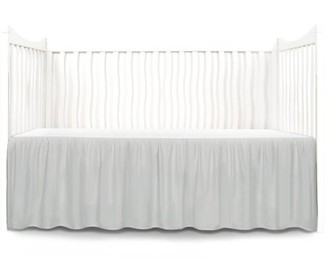 Tadpoles Microfiber Crib Skirt Dust Ruffle