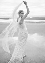 Thumbnail for your product : Phase Eight Anabel Lace One Shoulder Wedding Dress