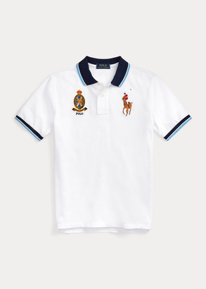 Ralph Lauren Big Pony Crest Cotton Polo