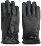 Chaps Men's Sheepskin Leather Snap Gloves