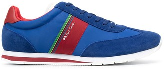 Paul Smith Colour-Block Lace-Up Trainers